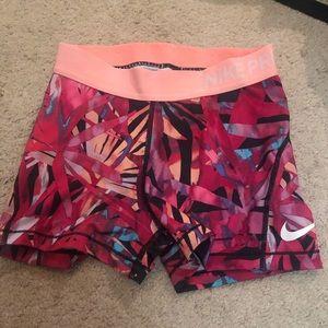 Multi color Nike pros